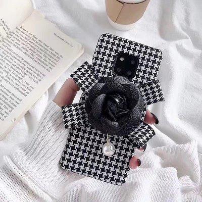 ☆韓元素╭☆Mobile-Style 千島紋 iPhone 11 保護套 6.1吋 硬式絨布殼 氣質 小香風 冬季限定
