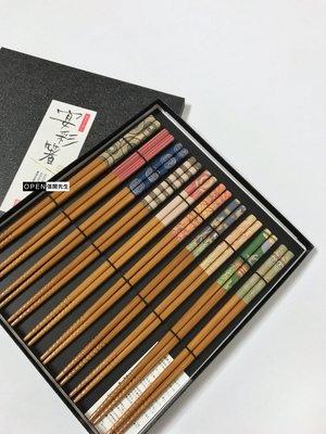 【張開先生】日本帶回 福井縣小浜市 著名 塗漆筷子
