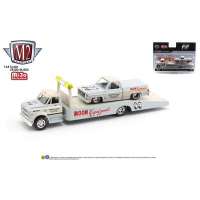 M2 Machines 1/64 Die Cast Model MOON Equipped '68 Chevy C60