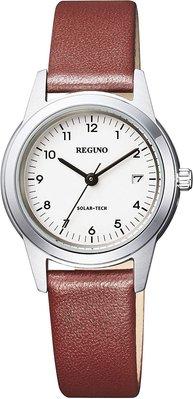 日本正版 CITIZEN 星辰 REGUNO KM4-015-10 女錶 女用 手錶 太陽能充電 日本代購