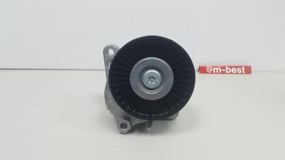 W211 M112 M113 2003-2005 皮帶調整惰輪 惰輪座 皮帶盤 輪子 (OEM製) 1122000970