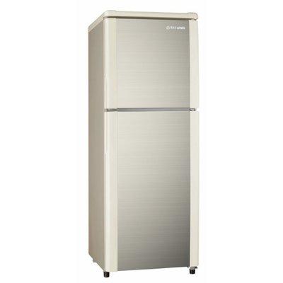※smile 家電館※TATUNG 大同 140L 雙門冰箱 TR-B140S-AG 琥珀金/限區含配送+基本安裝