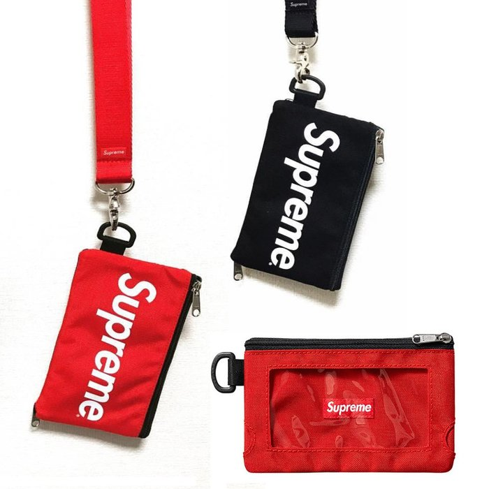 Supreme錢包男潮牌cdg Moblie Pouch 16FW 手機套兩用防配件