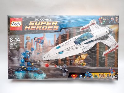 LEGO 樂高 76028 DC 超級英雄 超人 達克賽德入侵 Darkseid Invasion
