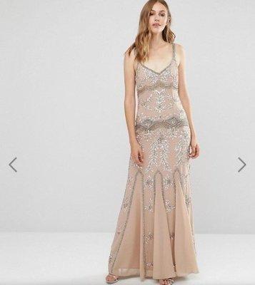 ASOS Maya Delicate Embellished Maxi Dress with Fishtail