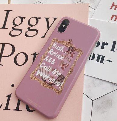 【黑店】原創設計 巴洛克華麗維納斯iphone手機殼 磨砂全包矽膠軟殼 iphone手機軟殼手機保護套情侶款手機殼