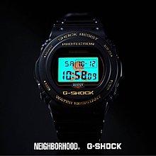 日本版 Casio G-shock x Neighborhood  DW-5750E DW5750 DW5700