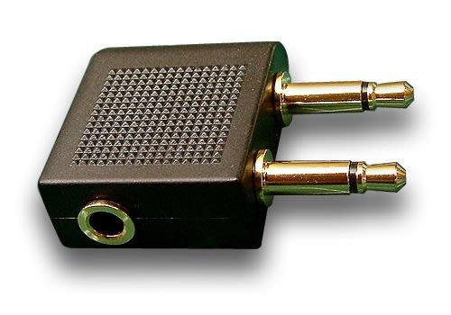 平廣 飛機轉接頭 3.5mm 接頭規格 耳機接頭轉換成 飛機 轉接頭 轉接器 飛機耳機轉接