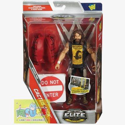 ☆阿Su倉庫☆WWE摔角 Cactus Jack Elite 48 Figure 傳奇巨星精華版人偶附出場偶衣 特價中