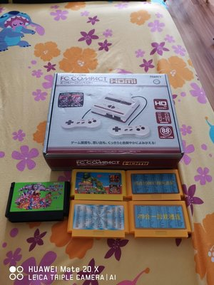 FC 主機,有盒齊件,可出HDMI 及 5隻Game