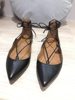 全新義大利芭蕾舞鞋 繫帶鞋 Aquazzura