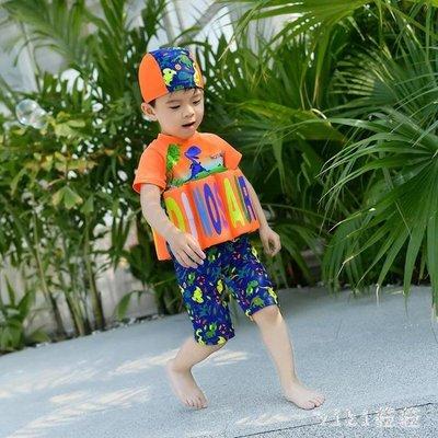 兒童水母衣浮力泳衣嬰兒女童女孩游泳衣寶寶幼兒男童連體漂浮泳衣泳裝 nm2977