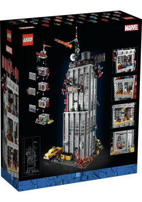 LEGO 樂高 76178 Daily Bugle蜘蛛人鋌而走險 日報大樓總編 喬納詹姆森