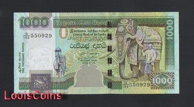 【Louis Coins】B1249-SRI LANKA-2001-2006斯里蘭卡紙幣,1000 Rupees