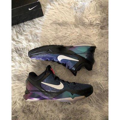 Nike Kobe 7 lnvisidility Cloak 黑紫/綠松藍 籃球鞋 ZK7 科比7 488371-104