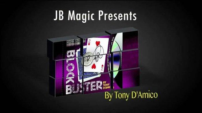 【天天魔法】【1795】硬幣紙牌全新結合~BLOCK BUSTER by Tony D'Amico