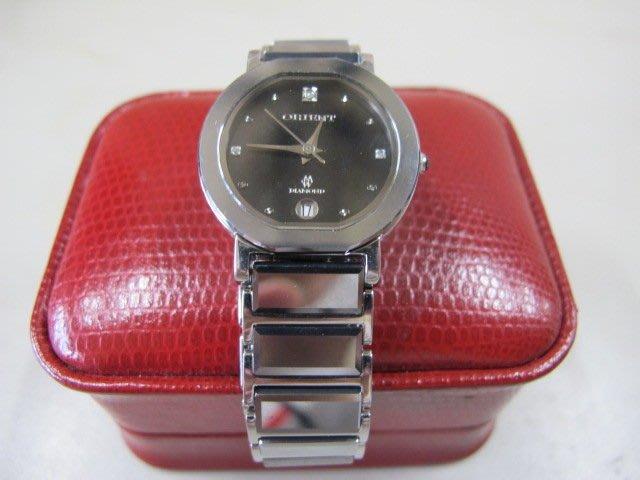 二手舖 NO.597 東方錶 orient 時尚女錶 鈦鋼手錶