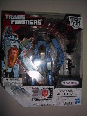 《豪宅玩具》變形金鋼 變形金剛 Transformers IDW AUTOBOT WHIRL V級 旋翼 雷霆救援隊