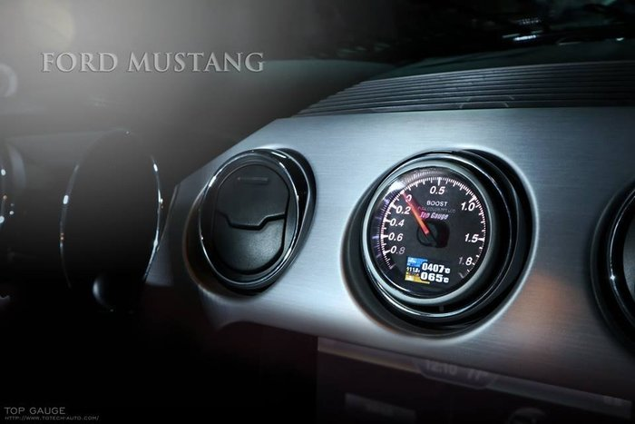 【精宇科技】FORD Mustang 2.3T 野馬 冷氣出風口渦輪 水溫 排溫錶 KUGA FOCUS FIESTA