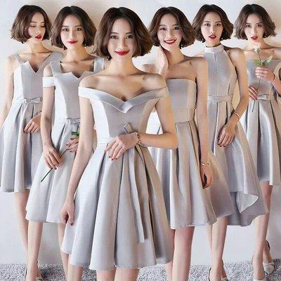 天使佳人婚紗禮服旗袍~~緞面多款伴娘禮服小禮服