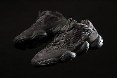 Adidas Yeezy 500 Utility Black F36640 全黑魂碳黑麂皮adiPRENE椰子老爹鞋肯爺