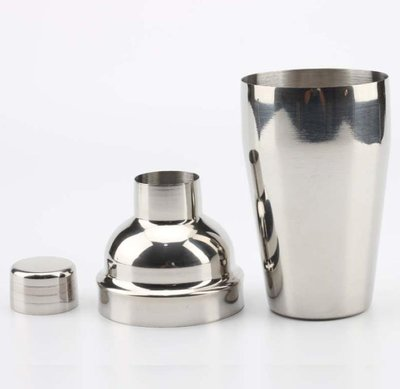 不鏽鋼雪克杯【NT030】三段式調酒器 雪克壺 搖酒壺 搖酒器550ML 雞尾酒雪克杯