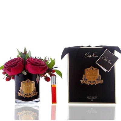 【幸運星】(法國)Cote Noire PERFUMED FLOWER香氛花愛之玫瑰香氛花