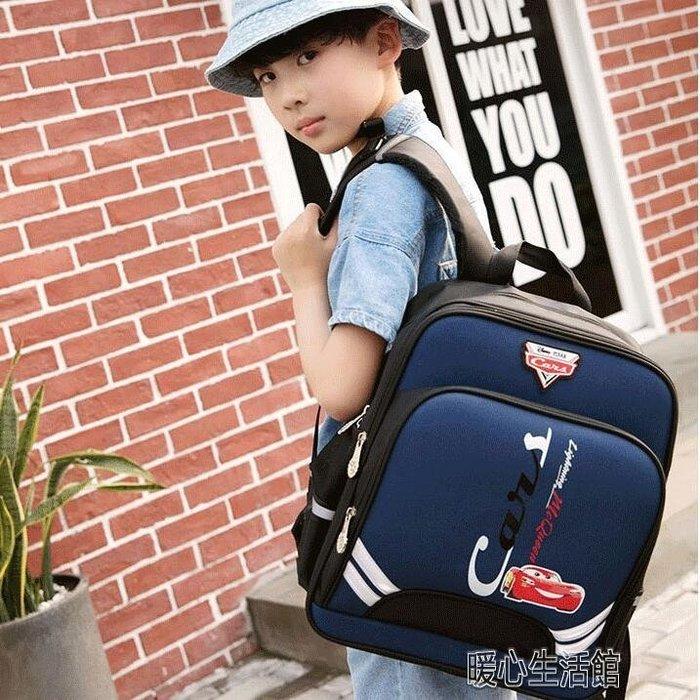 【瘋狂小賣鋪】書包 書包小學生男女1-3-4年級汽車輕便書包兒童