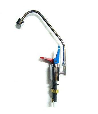 【津豪淨水】 可刷卡 雙出水型 鵝頸龍頭-H型/冷熱壓力式/直把手(廚下型加熱器/冰水機)適用