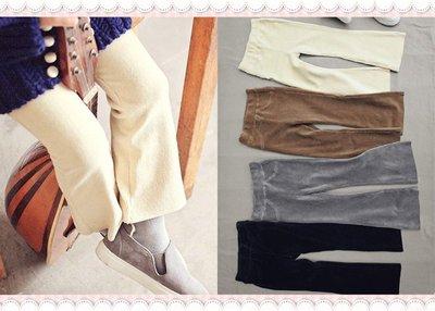 。~ 寶貝可愛 ~。韓國精選peach&cream秋冬時尚,燈芯絨靴型褲。2016秋冬現貨優惠