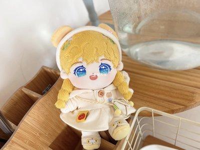 C_C.blue 麥和無屬性明星人偶公仔娃娃20CM可換衣布娃娃女定制BJD正版