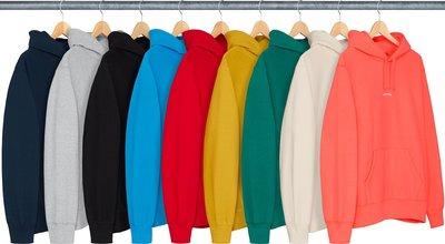 xsPC Supreme 18FW Trademark Hooded Sweatshirt 激似Box Logo帽Tee?