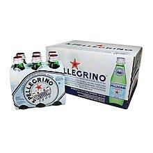 【多娜小鋪】San Pellegrino 聖沛黎洛 天然氣泡水 250毫升X24瓶/含運只要775元/好市多代購