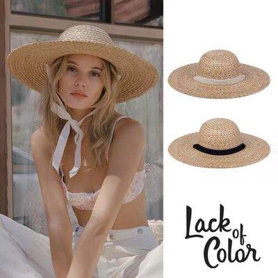 【預購】澳洲Lack of Color新入荷同款Dolce Sun Hat圓頂皇冠金色麥穗鋸齒編織遮陽帽草帽CA4LA