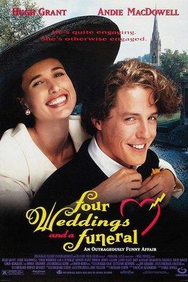 妳是我今生的新娘-Four Weddings And A Funeral (1994)原版電影海報