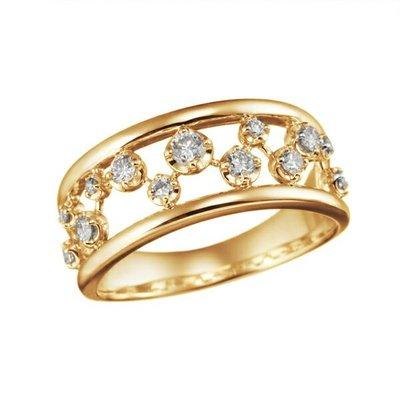*misaki*の日本Jewelry純代購【日本網路飾品】「天然鑽石35分」18K黄K金戒指【東京 本店】