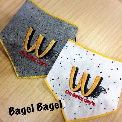 貝果貝果 韓國 ONE OF US 可愛點點 麥當勞 小領巾 [A2635]