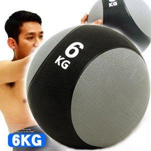 【推薦+】MEDICINE BALL橡膠6KG藥球(6公斤彈力球韻律球.抗力球重力球重球.健身球訓練球C109-2206