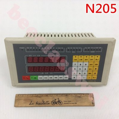 SUPER-1NC fORTH Programmable Numerical Controller 單軸數值 N205