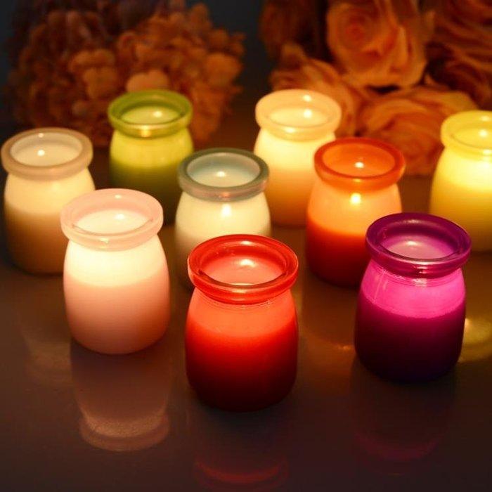 無煙蠟燭香薰精油婚禮生日蠟燭浪漫求婚七夕蠟燭