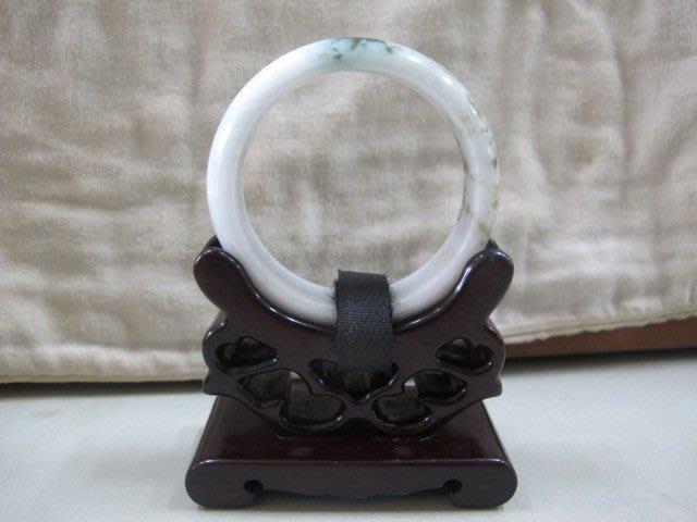 二手舖 NO.3950 天然玉石 翡翠A貨 玉鐲 手鐲 手環 玉環