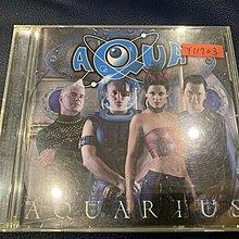 *還有唱片行*AQUA / AQUARIUS 二手 Y11703