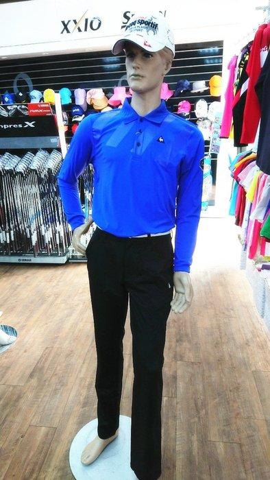 藍鯨高爾夫le coq sportif GOLF【2019秋冬新品】公雞上衣 男POLO衫 #QGK23108-3703