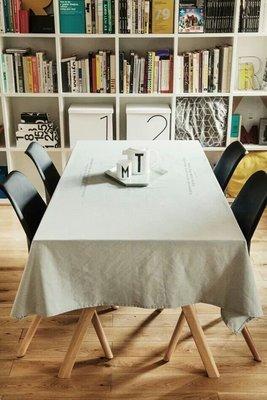 MOR 北歐Zakka天然棉麻鄉村風簡約台布桌布桌巾餐桌布 拍攝道具背景布 大款 260*140