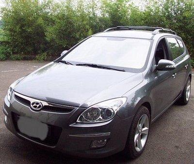 DE連長--Hyundai  I30 CW原廠型(美規) 車頂行李架橫桿 置放架 可放置衝浪板  行李盤 附ARTC認證