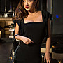 Fashion Sexy Party Mini Dress Package hip skirt night wear