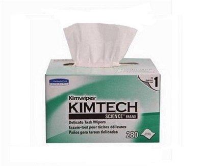 (含稅整箱/現貨)KIMTECH Kimwipes science 精密科學擦拭紙280抽 34155 拭鏡紙