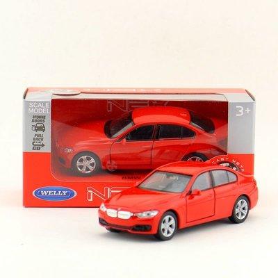 威利 正版 1:36 仿真 寶馬 BMW 3系 335i 轎車  合金 汽車模型 迴力 兒童玩具  紅 苗栗縣