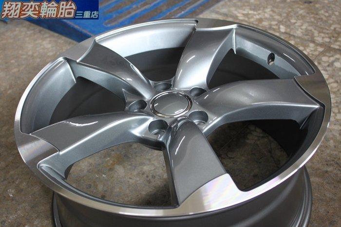 18吋鋁圈 AUDI 類TTRS 5X112  ET45 ET35 VW AUDI Golf  Q5 S3 A4 A6