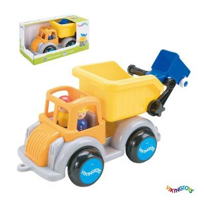 【晴晴百寶盒】瑞典進口 回收環衛車 VIKINGTOYS 男孩最愛 車車控 禮物益智遊戲玩具高品質W207
